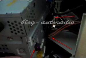 débranchement autoradio Mercedes CLK W209