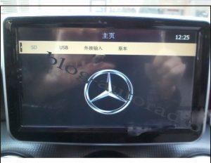 Autoradio-GPS-mercedes-Classe-A
