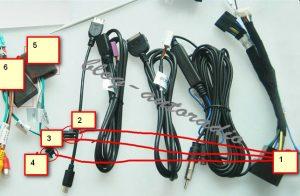 installation cable d'extension autoradio Mercedes CLK W209