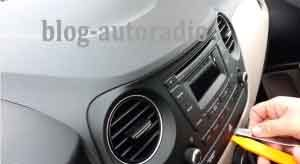 installation autoradio Hyundai I20