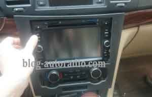 installer autoradio Chevrolet Epica