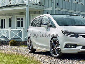autoradio android Opel Zafira