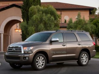 installer autoradio Toyota Sequoia